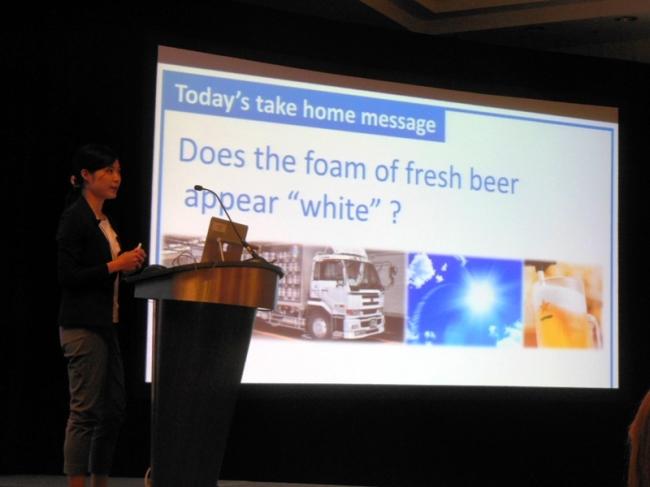 写真1. Brewing summit での発表