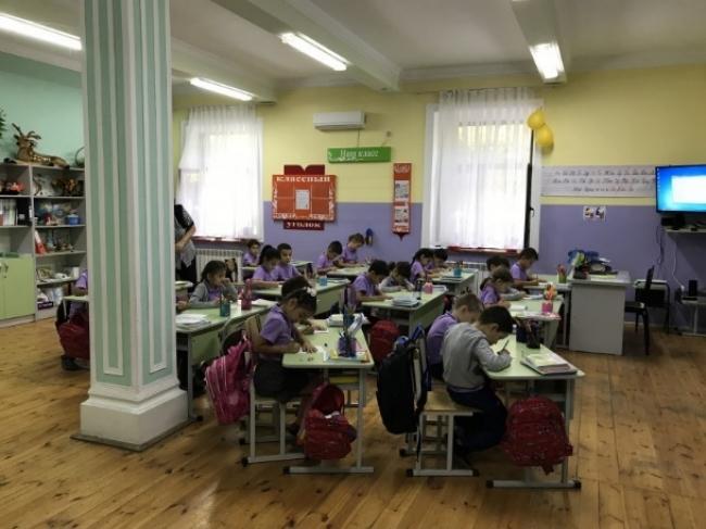 ウズベキスタン共和国 学校視察