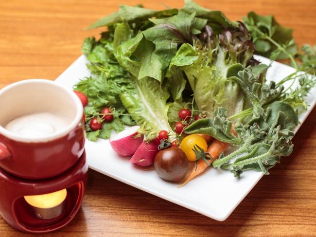 鎌倉野菜のバーニャカウダ 1,280円