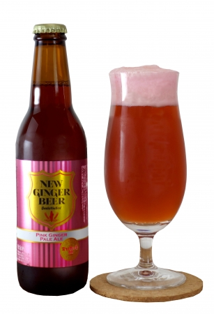 NEW GINGER BEER~PINK GINGER PALE ALE~ 330ml 800円