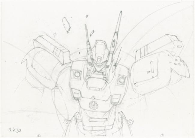 橘田幸雄氏新作イラストのラフ絵