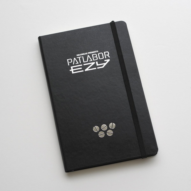 Moleskine Custom Editions for PATLABOR EZY