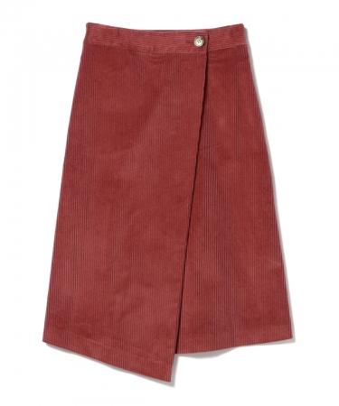 <ウィメンズ>コーデュロイスカート ¥18,000+税(Demi-Luxe BEAMS)