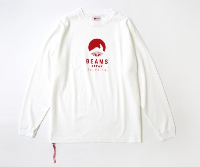 BEAMS JAPAN ハチ公ロゴ ロングTシャツ ¥7,800(税抜)