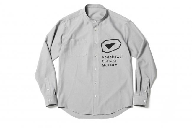 スタンドカラーシャツ(館内案内スタッフ着用)