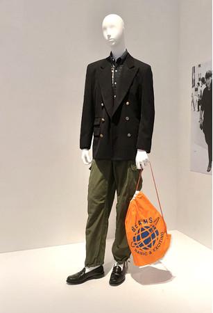 国立新美術館「ファッション イン ジャパン」に展示される渋カジスタイル
