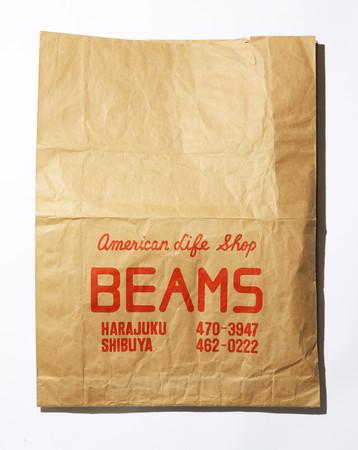 1977年頃のBEAMSショップバッグ