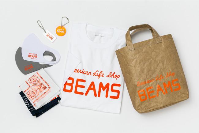 国立新美術館「ファッション イン ジャパン」で販売されるBEAMS初代ロゴを初めて商品化したスーベニアグッズ