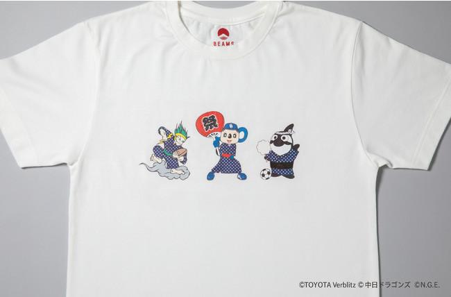 ヴェルブリッツ×ドラゴンズ×グランパス×BEAMS JAPAN:お祭りTシャツ