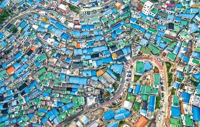 甘川洞文化村、  釜山、  大韓民国