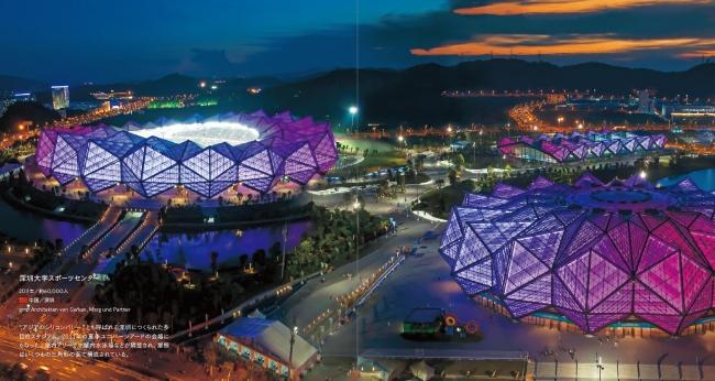 ▲深圳大学スポーツセンター(中国)