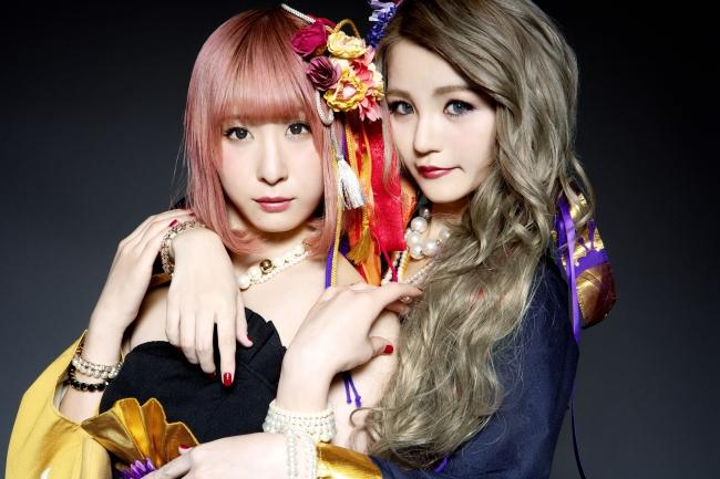 平安式舞提琴隊(左YURiE 右KiRA)