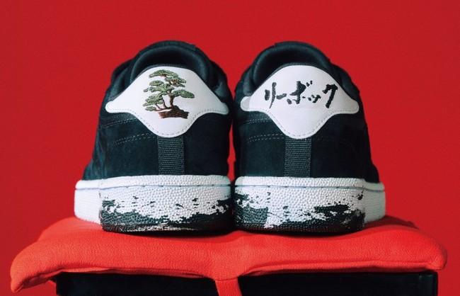 ▲「盆栽」のアイコンと「リーボック」の刺繍