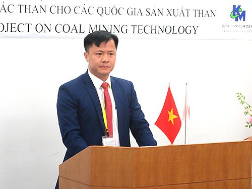ベトナム研修生代表(グェン・ヴァン・スック氏)の挨拶
