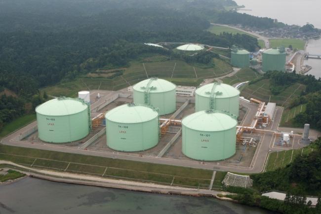 七尾国家石油ガス備蓄基地