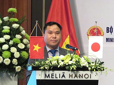 基調講演:ベトナム商工省(MOIT)石油ガス石炭部、Trinh Duc Duy石炭産業課長