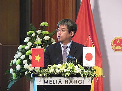 ご来賓挨拶:在ベトナム日本国大使館、土屋武大参事官