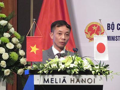 プレゼンテーション:VINACOMIN、Do Hong Nguyen科学戦略部長