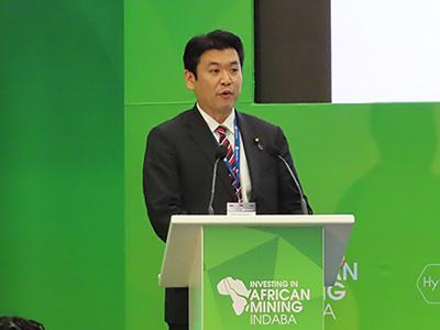 松本経済産業副大臣講演
