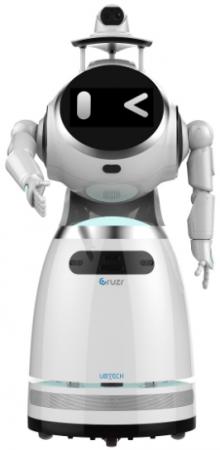 UBTECH社のAIサービスロボット「Cruzr」をベースに開発する医療機関向けロボット
