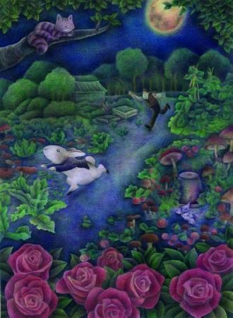 今大ブーム 大人の塗り絵の展覧会を開催 第10回大人の塗り絵