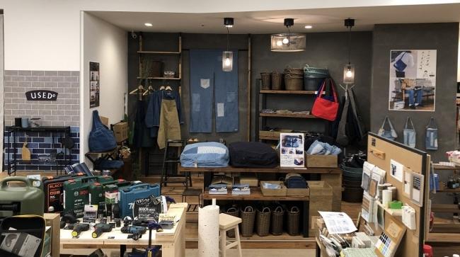 USEDo のPOP UPイベント・期間限定ショップ体験型DIYショップ『DIY FACTORY(二子玉川店)』風景