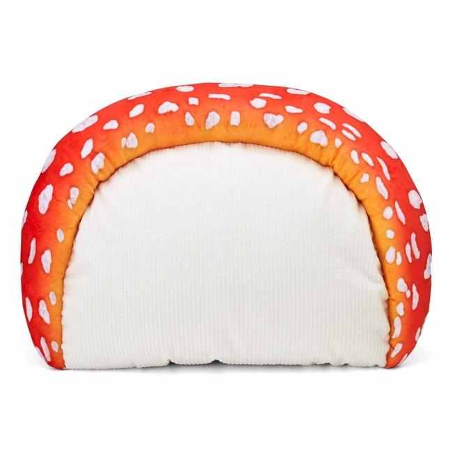 ふっくら肉厚 いい夢見られそうな「ベニテングタケの枕カバー」がフェリシモYOU+MORE!から誕生