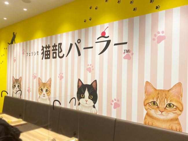 イラストレーター霜田有沙さん描きおろしの猫たち