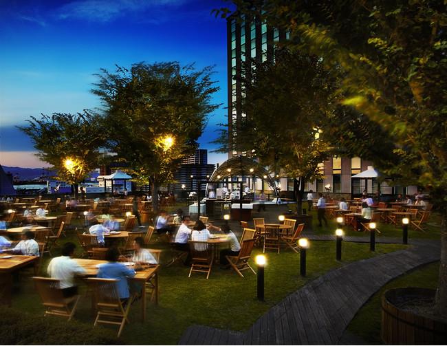 屋上ガーデンレストラン「ペルゴラ」イメージ