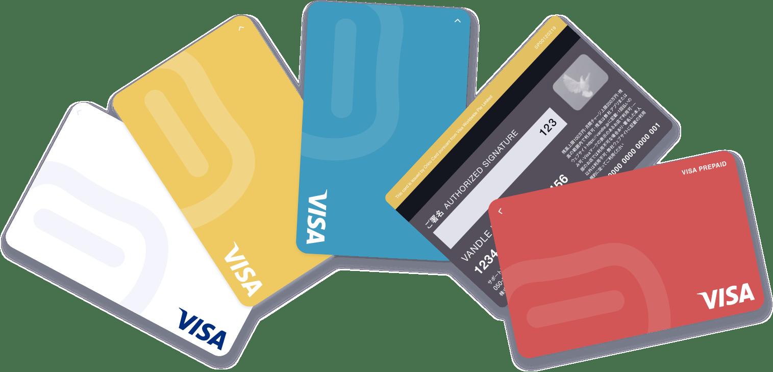 Visa プリペイド カード