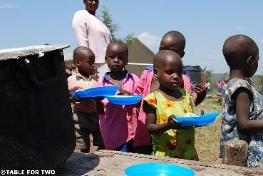 <開発途上国の子どもたち>