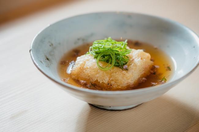 カニ胡麻豆腐