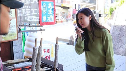 ▲旅行先の人たちとのコミュニケーションが「ili(イリー)」でスムーズに