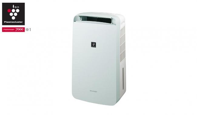 プラズマクラスター除湿機『コンパクトクール』<CM-J100-W(アイスホワイト)>