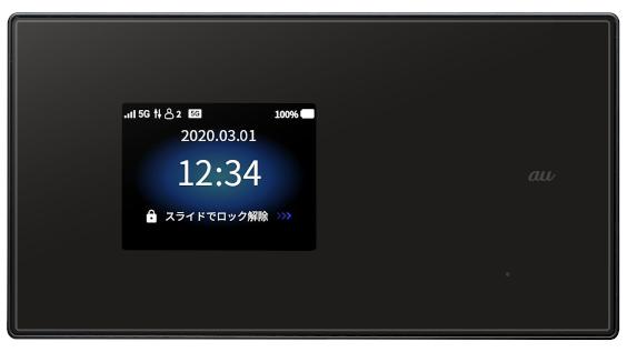 5Gモバイルルーター「Speed Wi-Fi 5G X01」