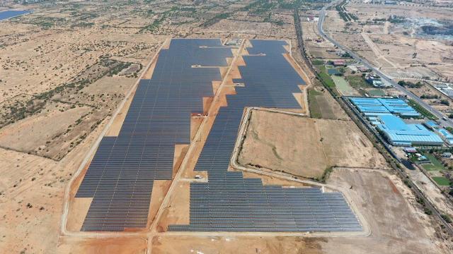 完成した太陽光発電所