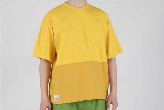 半袖プルオーバーTシャツ1