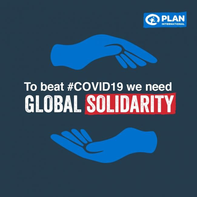 新型コロナウイルスに打ち勝つには、世界の結束が必要です