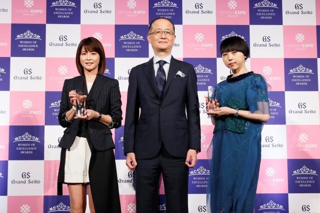 第4回women of excellence awards 授賞式 森高千里さん スペシャリスト