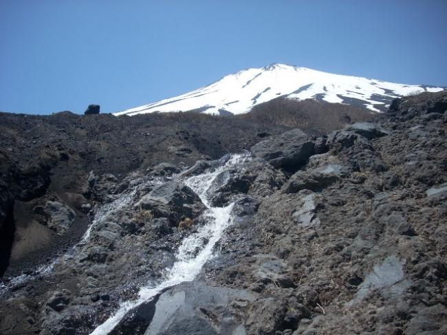 須走口五合目小富士からまぼろしの滝コース(2017年6月3日)
