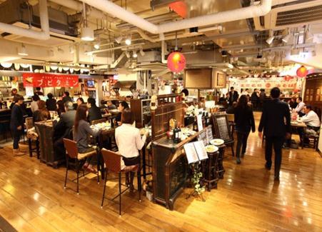 食堂酒場ハル★チカMB3階店内(イメージ)
