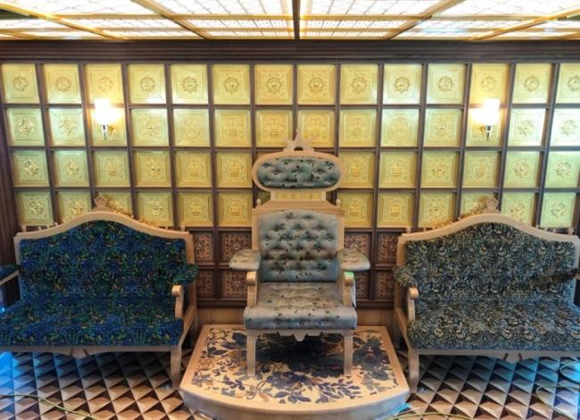 特別船室(女王陛下の椅子)