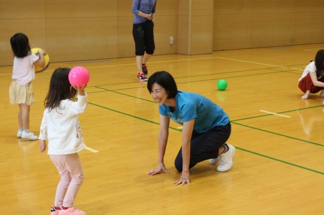 ボールでチャレンジ親子教室(イメージ)