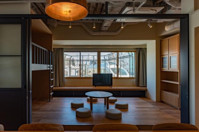 '住みながら働ける、時には貸し出せる'、新業態の「タイムシェア型レジデンス」を展開します 築35年のビルをコンバージョンした複合施設「tefu yoyogi uehara」を開業