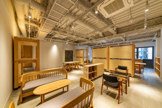 レンタルスタジオ(1階) 内装