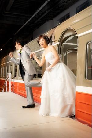 小田急初の流線形車両 SE(3000形)との撮影 ※イメージ