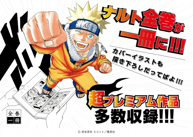 大好評全巻一冊シリーズに Naruto ナルト プログレス