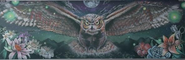 埼玉県立大宮光陵高等学校/とりずき(3人)/Colored owl