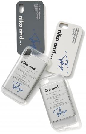 iPhoneケース 各¥1,500+TAX         左上下)X,XS対応 右上下)7,8対応