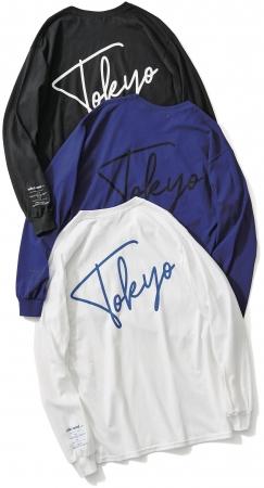 ロングスリーブTシャツ ¥4,300+税